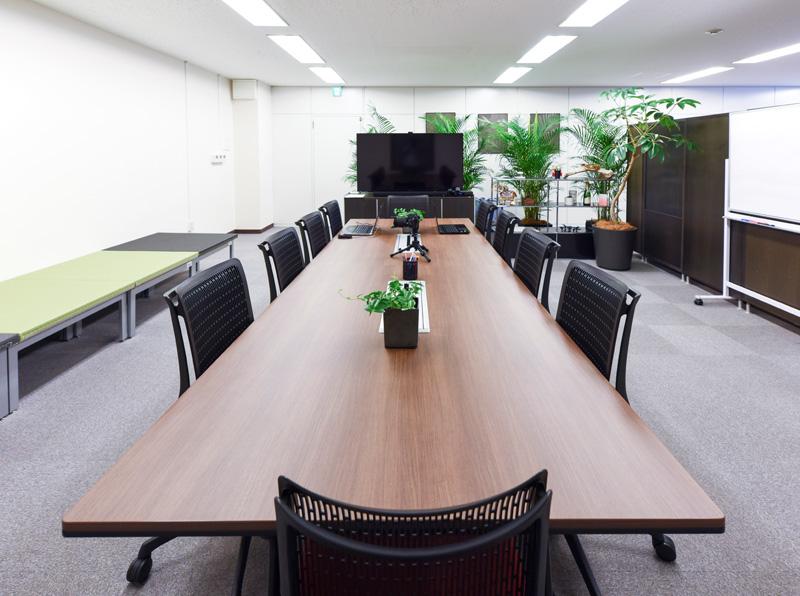 飛沫シャッター会議室イメージ